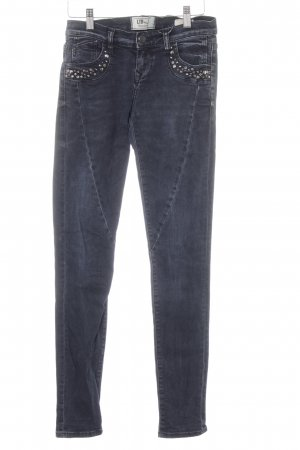 LTB Röhrenjeans dunkelblau-graublau Casual-Look
