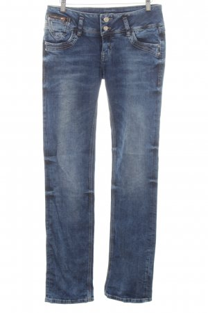 LTB Tube jeans neon blauw casual uitstraling