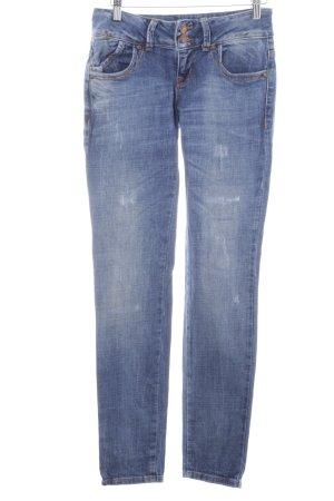 LTB Röhrenjeans stahlblau Jeans-Optik
