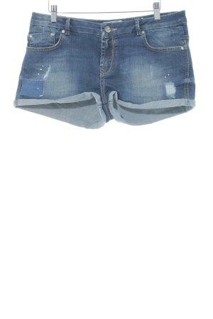 LTB Shorts dunkelblau Washed-Optik