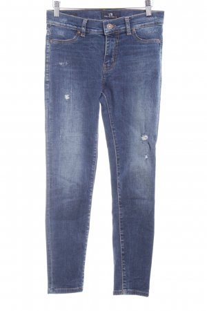 LTB Skinny Jeans blau Used-Optik