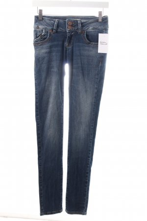 LTB Skinny Jeans blau Washed-Optik