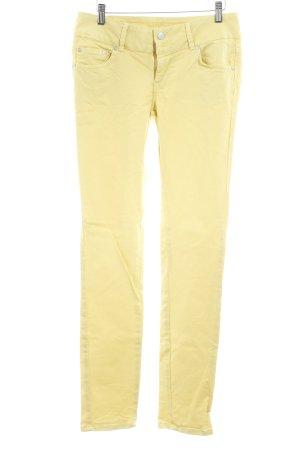 LTB Skinny Jeans gelb Casual-Look