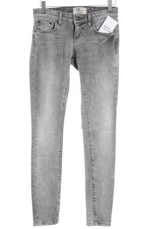 LTB Skinny Jeans grau-hellgrau Street-Fashion-Look