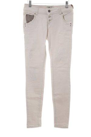 LTB Skinny Jeans hellbeige Casual-Look