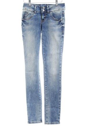 LTB Skinny Jeans hellblau Metallknöpfe