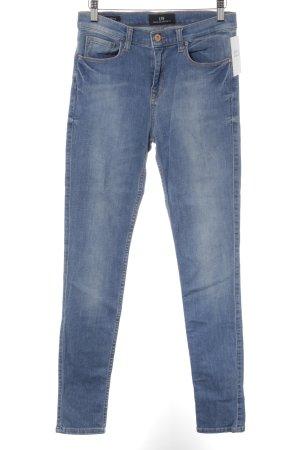 LTB Skinny Jeans kornblumenblau Casual-Look