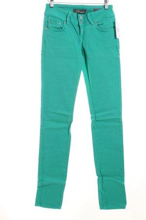 LTB Skinny Jeans türkis Casual-Look