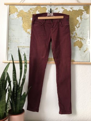 LTB - Skinny Regular Ankle Jeans in Bordeaux