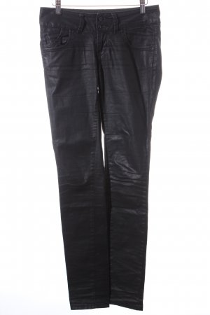 LTB Slim Jeans anthrazit-schwarz Glanz-Optik