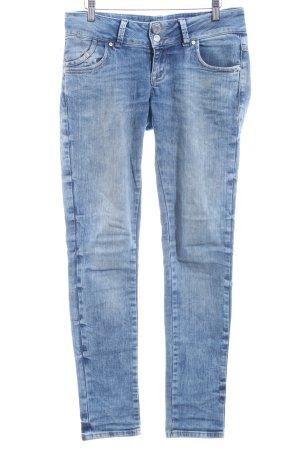 LTB Slim Jeans blau-hellbeige Casual-Look