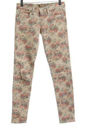 LTB Slim Jeans Blumenmuster Casual-Look