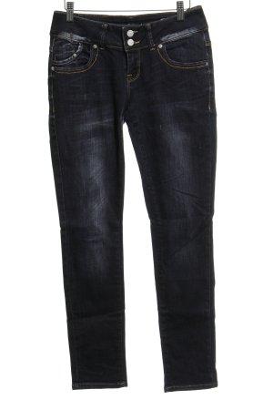 LTB Slim Jeans dunkelblau-silberfarben Casual-Look
