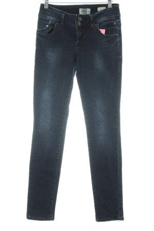 LTB Slim Jeans dunkelblau-stahlblau Jeans-Optik