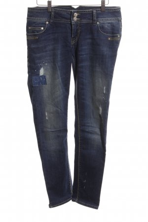 LTB Slim Jeans blau Used-Optik