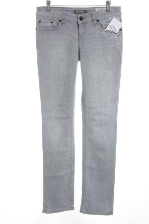 LTB Slim Jeans hellgrau Casual-Look
