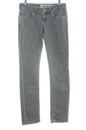 LTB Slim Jeans hellgrau-grau Casual-Look