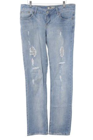 LTB Slim Jeans himmelblau-kornblumenblau Casual-Look