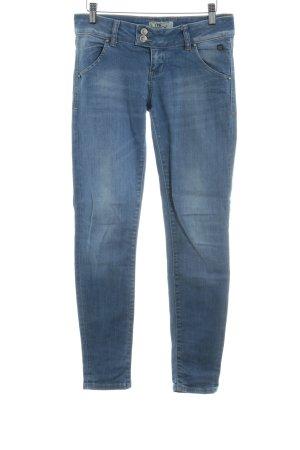 LTB Slim Jeans himmelblau meliert Casual-Look