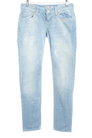 LTB Slim Jeans himmelblau Washed-Optik
