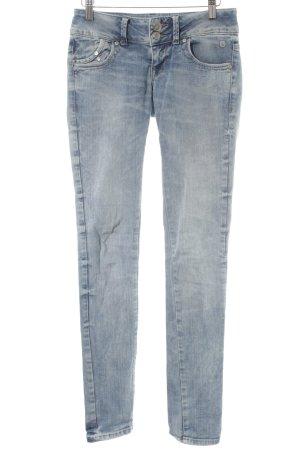 LTB Slim Jeans kornblumenblau Casual-Look