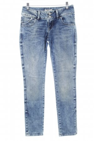 LTB Slim Jeans stahlblau Washed-Optik