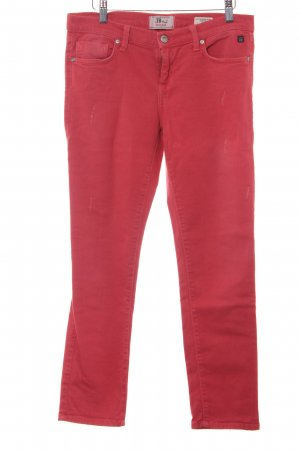 LTB Strapped Trousers bright red casual look