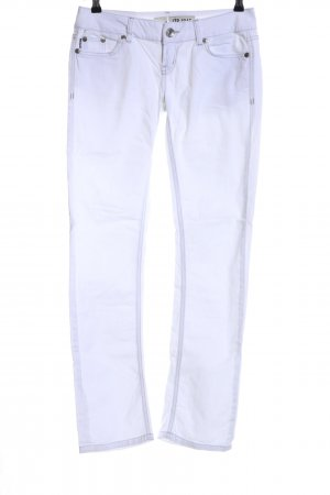 LTB Straight-Leg Jeans weiß Casual-Look