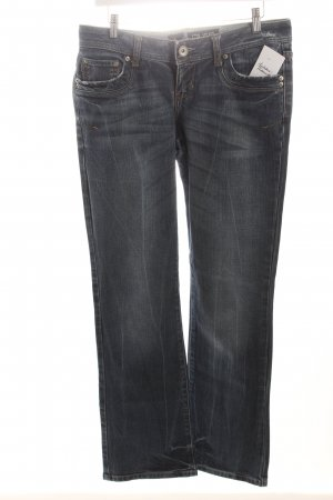 LTB Straight-Leg Jeans graublau Used-Optik