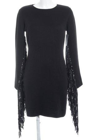 LTB Abito di maglia nero stile semplice