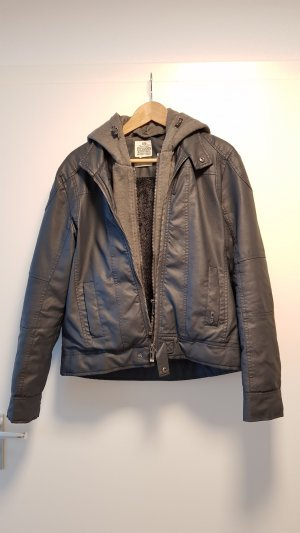 LTB Faux Leather Jacket multicolored