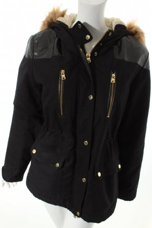 LTB Winterjacke schwarz Casual-Look