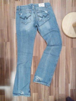Ltc Les temps de Cerises Denim Bootcut hell Jeans Denim 29