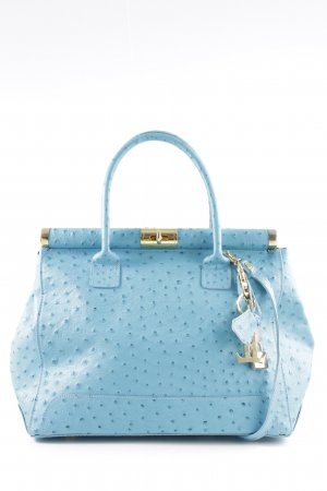 Luca Lorenzo Bügeltasche blau Casual-Look