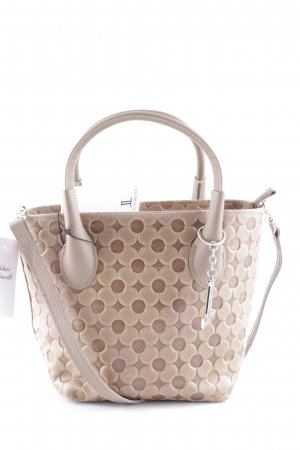 Luca Lorenzo Carry Bag beige floral pattern casual look
