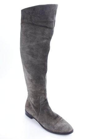 Luca Mode Botas estilo militar gris antracita estilo clásico