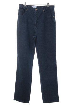 Lucia Five-Pocket-Hose blau Casual-Look