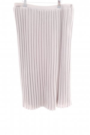 Lucia Knitted Skirt light grey casual look