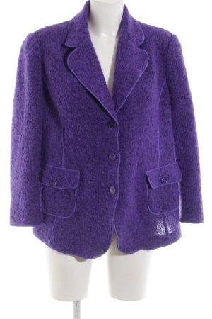 Lucia Blazer in lana lilla stile casual