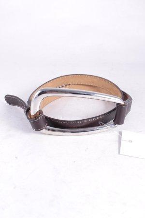 Luciano Barbera Cintura marrone scuro stile semplice