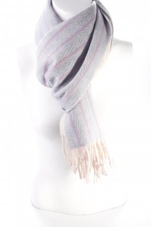 Luciano Barbera wool scarf patterned