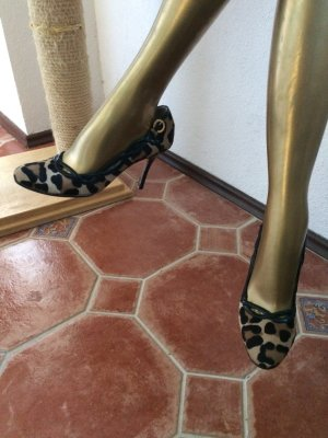 Luciano Padovan Pumps, Ponyhair, Ponyfell