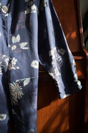 Kimono blouse veelkleurig Zijde