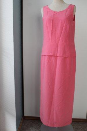Lucinda Gray Maxikleid Gr. UK 10 EUR 38 S M rose rosa Kleid lang