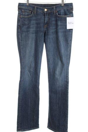 Lucky Brand Straight-Leg Jeans dunkelblau Casual-Look