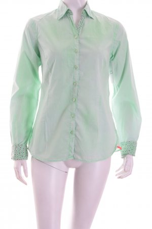 Lucky de Luca Langarm-Bluse mint Washed-Optik