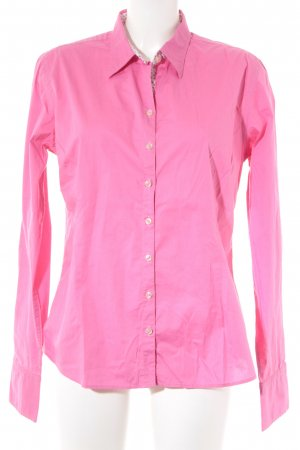 Lucky de Luca Langarmhemd pink Sternenmuster extravaganter Stil