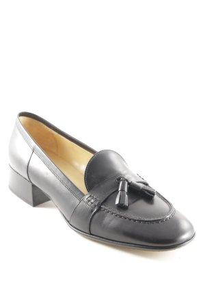 Ludwig Reiter Zapatos sin cordones negro estilo «business»