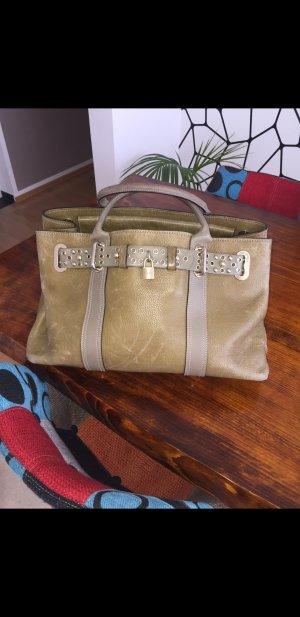 luella Handtasche grün/gold NP ca.1000