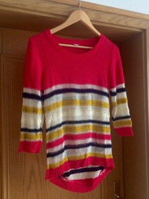 Luftig gestrickter Pullover mit Streifen S.Oliver 36